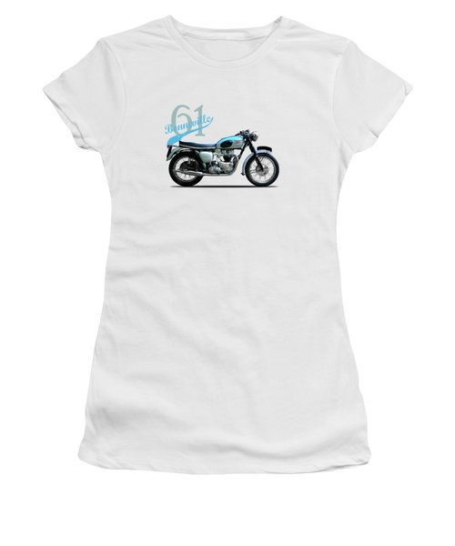 Triumph Bonneville Women's T-Shirt (Athletic Fit)