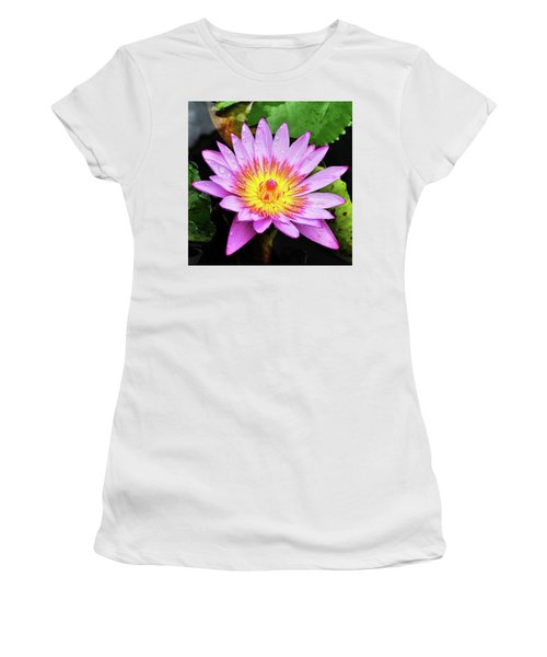 Water Lily Women's T-Shirt