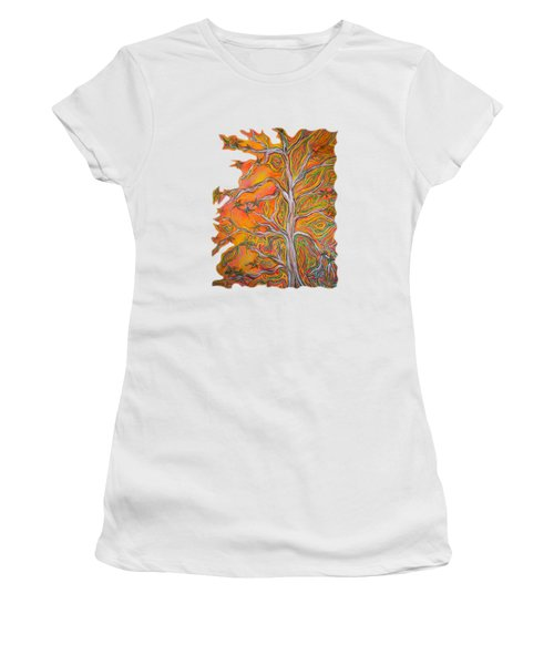 Nature's Energy Women's T-Shirt (Athletic Fit)