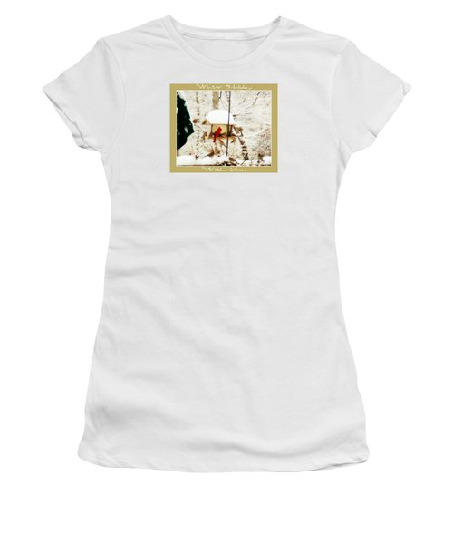 Winter Holiday Women's T-Shirt (Athletic Fit)