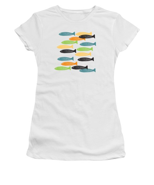 Colorful Fish  Women's T-Shirt