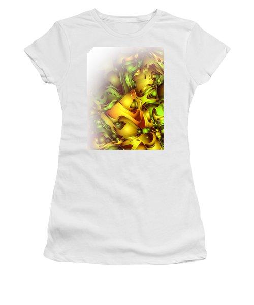 The Sweet Fantasy Women's T-Shirt (Junior Cut) by Moustafa Al Hatter
