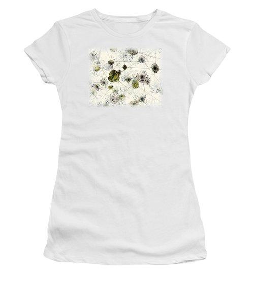 Neural Network Women's T-Shirt (Junior Cut) by Anastasiya Malakhova