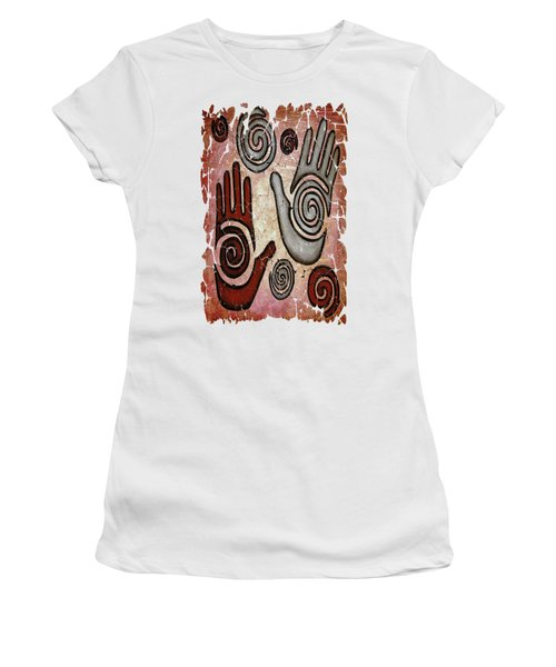Healing Hands Fresco Women's T-Shirt (Athletic Fit)
