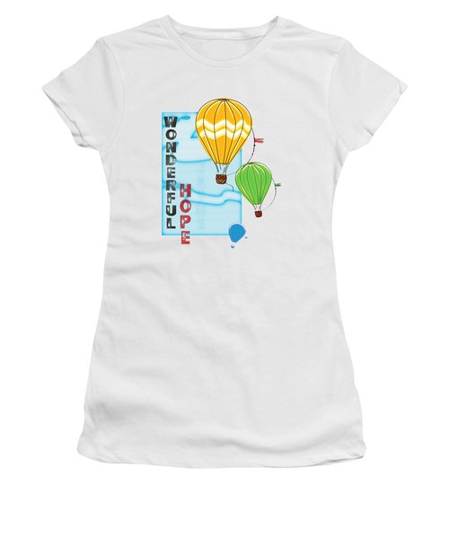 A Wonderful Hope Women's T-Shirt (Athletic Fit)