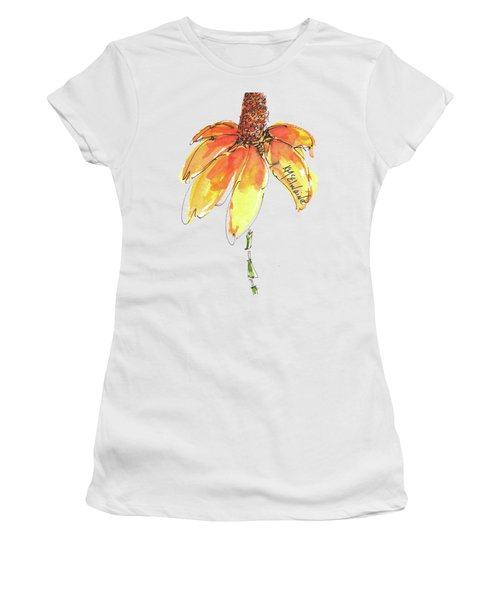 Made For Order Cone Sunflower Women's T-Shirt (Athletic Fit)