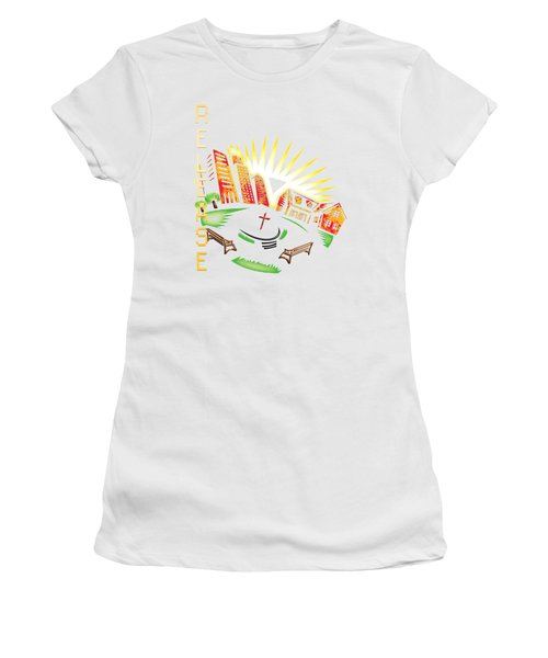 Matthieu 8 20 Women's T-Shirt (Athletic Fit)