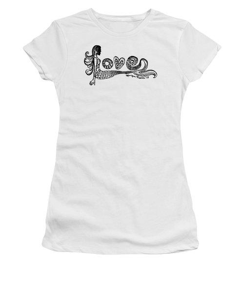 Mermaid Love Women's T-Shirt
