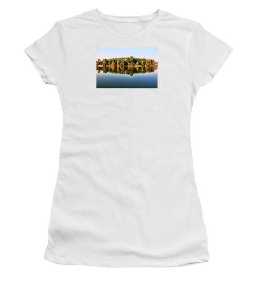When Nature Reflects Women's T-Shirt (Junior Cut) by Bill Kesler