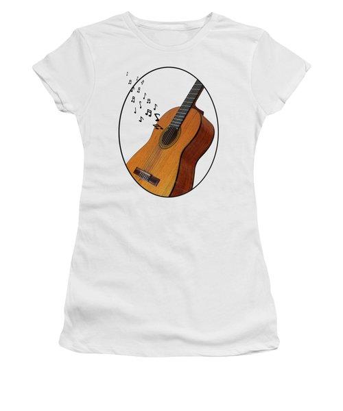 Acoustic Guitar Sounds Women's T-Shirt