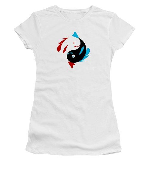Swimming In Harmony Women's T-Shirt