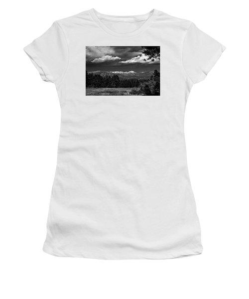 Women's T-Shirt featuring the photograph As Summer Begins by Jason Coward