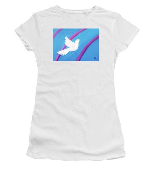 Ascending Women's T-Shirt (Junior Cut) by Margaret Harmon