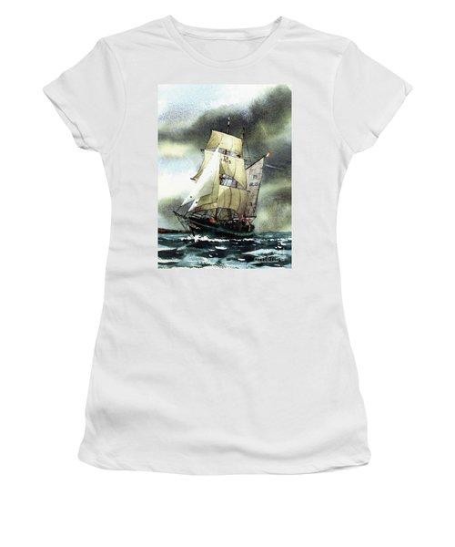 F  758  Asgard 11 Often Sailed Along The Wild Atlantic Way Women's T-Shirt
