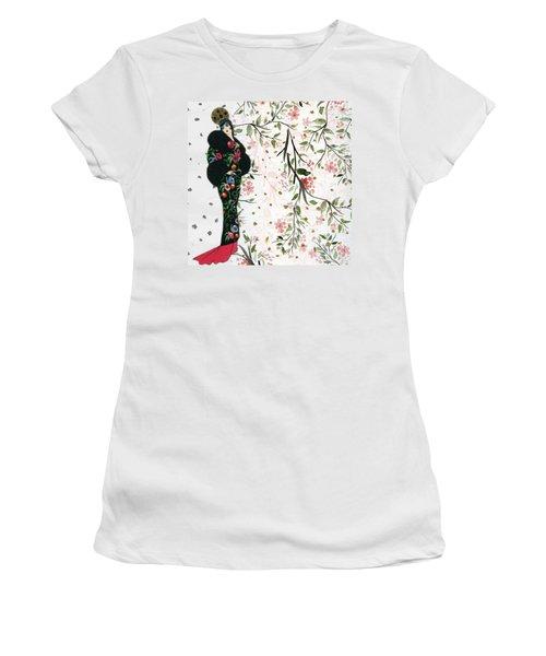 Asian Art Deco Beauty Women's T-Shirt