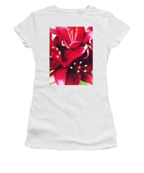 Asiatic Lilies Women's T-Shirt