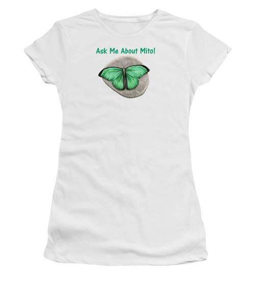 Ask Me About Mito T-shirt Or Tote Bag Women's T-Shirt