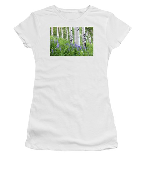 Aspen And Lupine Women's T-Shirt