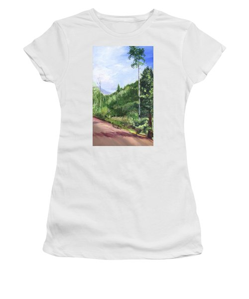 Aspen Heaven Women's T-Shirt (Athletic Fit)