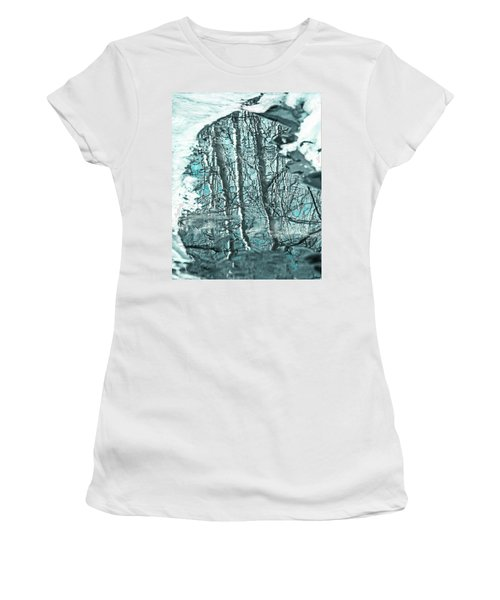 Aspen Reflection Women's T-Shirt (Athletic Fit)
