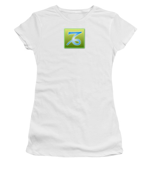 Capricorn Sun Sign Astrology  Women's T-Shirt (Athletic Fit)