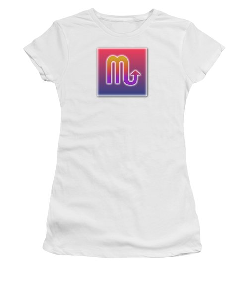 Scorpio Sun Sign Astrology  Women's T-Shirt (Athletic Fit)