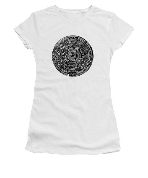 Asymmetry Women's T-Shirt (Athletic Fit)