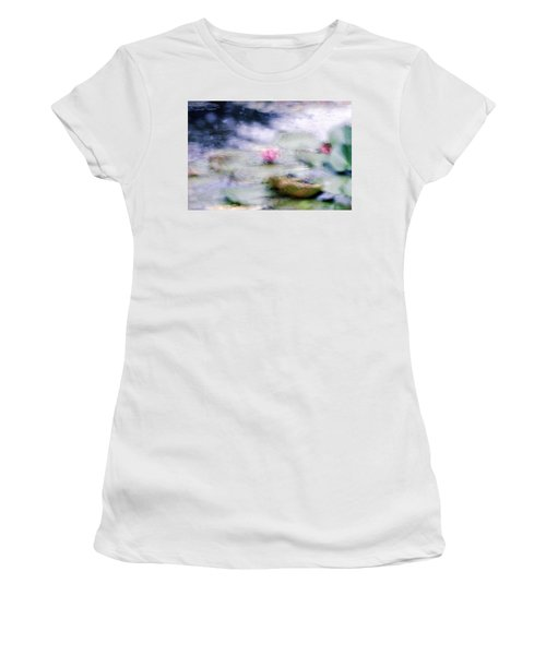 At Claude Monet's Water Garden 12 Women's T-Shirt