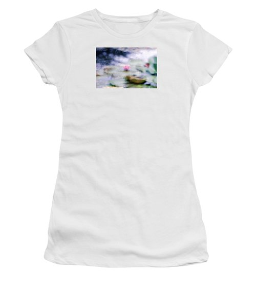 At Claude Monet's Water Garden 12 Women's T-Shirt (Athletic Fit)