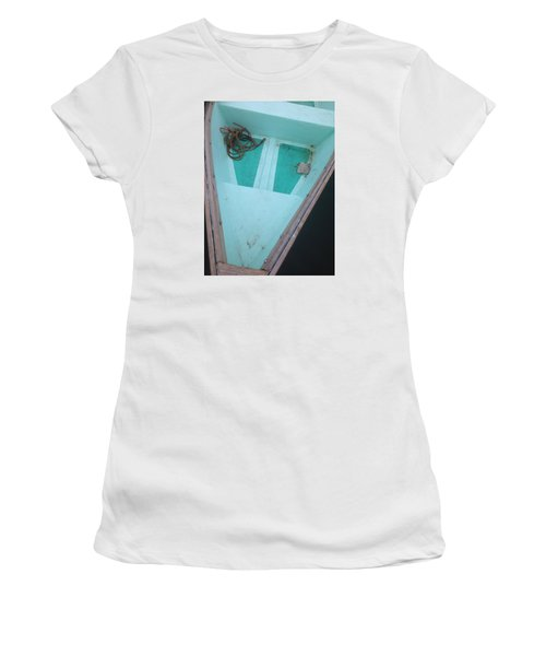 At The Dock Women's T-Shirt (Junior Cut) by Olivier Calas