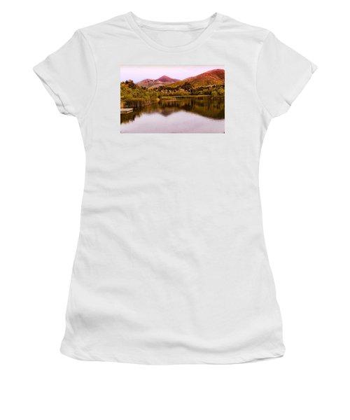 At The Lake Women's T-Shirt