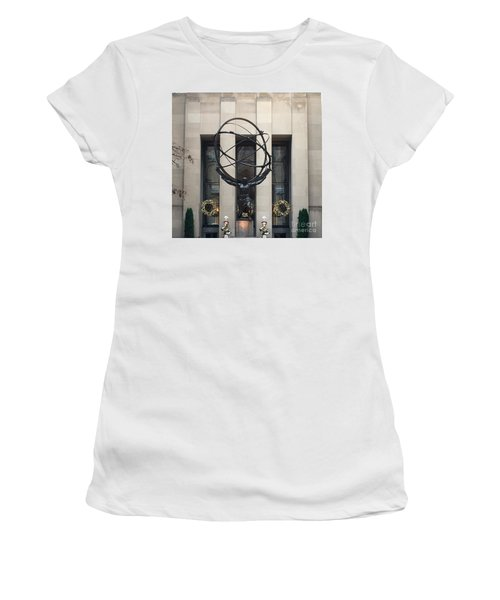 Atlas Statue Women's T-Shirt