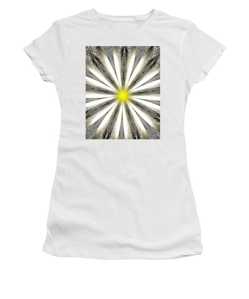Atomic Lotus No. 4 Women's T-Shirt (Junior Cut) by Bob Wall