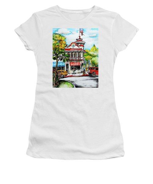 Auburn Historical Women's T-Shirt (Junior Cut) by Terry Banderas