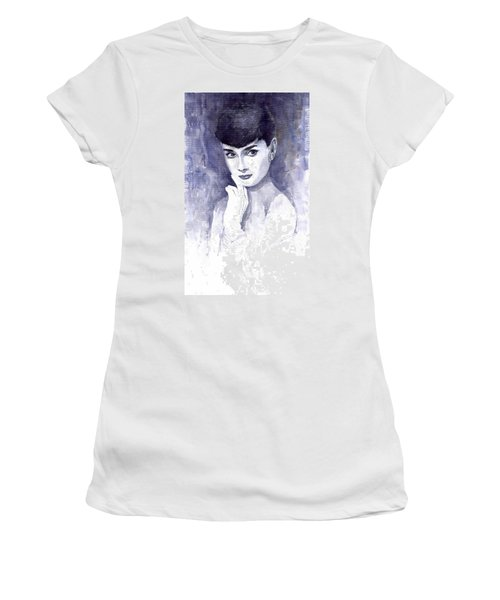 Audrey Hepburn  Women's T-Shirt (Athletic Fit)