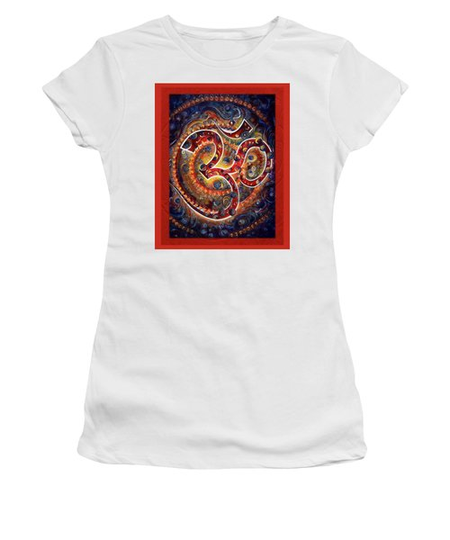 Aum - Vibrations Of Supreme Women's T-Shirt (Junior Cut)