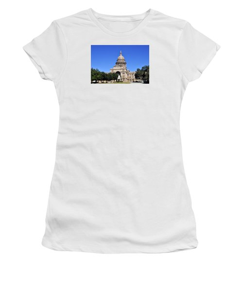 Austin State Capitol Women's T-Shirt (Athletic Fit)
