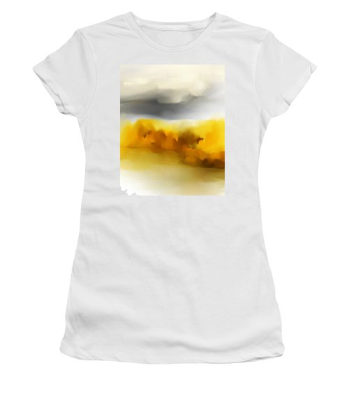 Autumn Along The River Women's T-Shirt