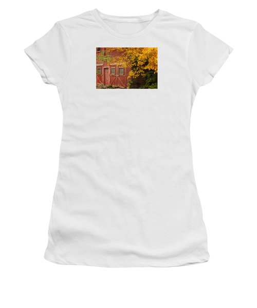 Autumn Barn Women's T-Shirt (Athletic Fit)