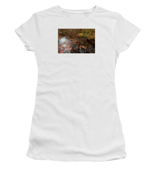 Autumn Carpet 003 Women's T-Shirt (Athletic Fit)