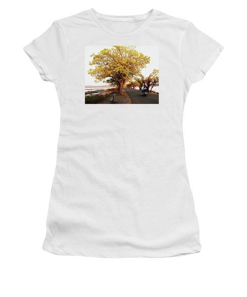 Autumn Causeway Women's T-Shirt