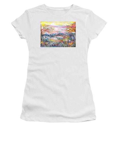 Autumn Country Mountains Women's T-Shirt