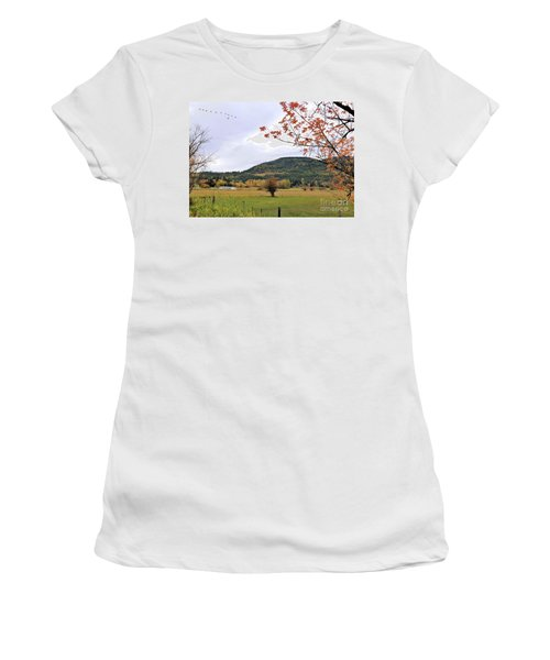 Autumn Country View Women's T-Shirt
