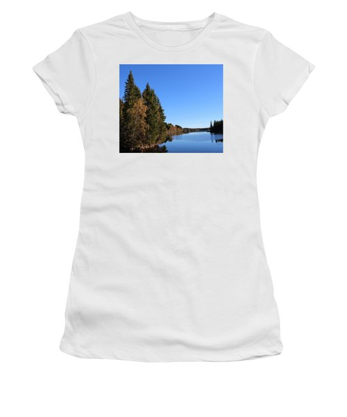 Autumn In Europe  Women's T-Shirt (Athletic Fit)