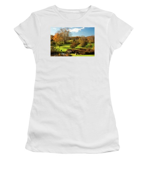 Autumn In The Park Women's T-Shirt