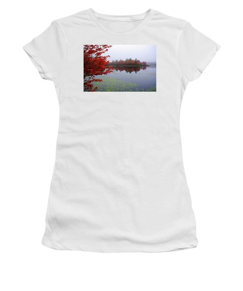 Autumn On The Bellamy Women's T-Shirt (Athletic Fit)
