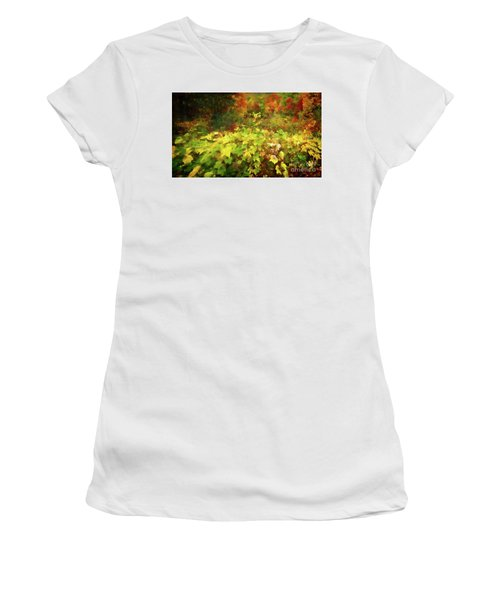 Autumn Watercolor Women's T-Shirt