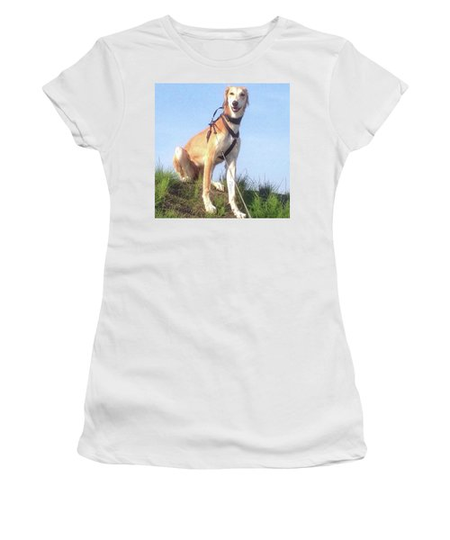 Ava-grace, Princess Of Arabia  #saluki Women's T-Shirt