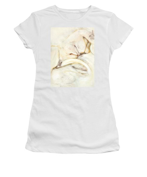 Award Winning Abstract Nude Women's T-Shirt (Athletic Fit)