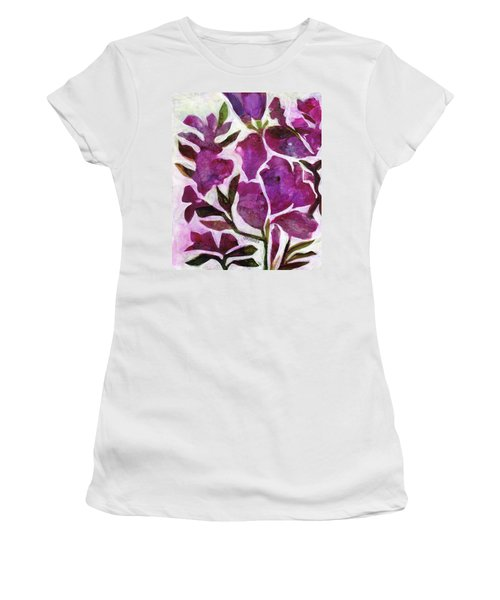 Azaleas Women's T-Shirt (Junior Cut) by Julie Maas